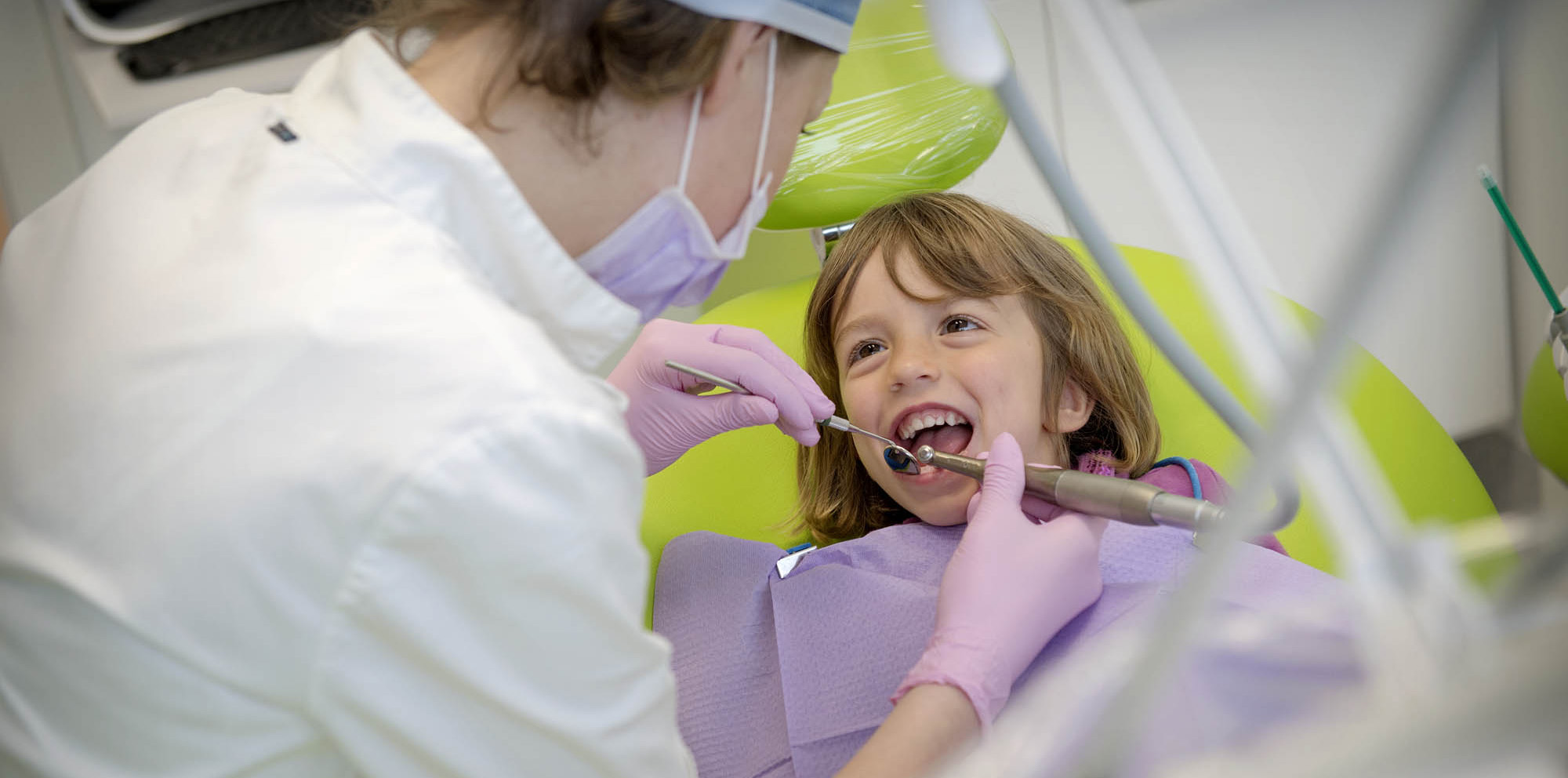 Protocollo dentistico per l'infanzia